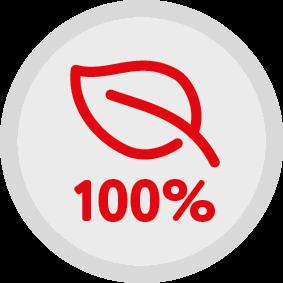 100% naturalnych składników