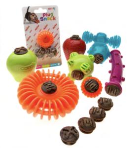 comfy plus snack zabawki oraz przysmaki do napełniania