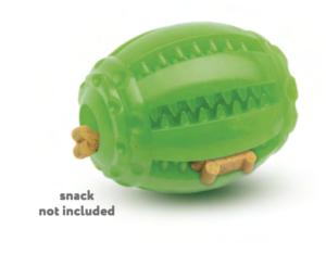comfy zabawka mint dental rugby zielona